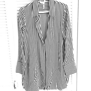 Current unworn Zara striped shirt dress